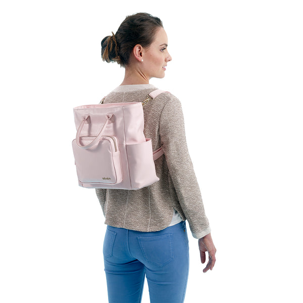 Kyoto Nappy Bag - Pink (2)
