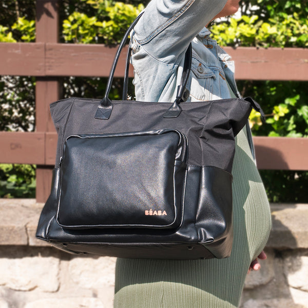 Berlin Nappy Bag - Black (1)