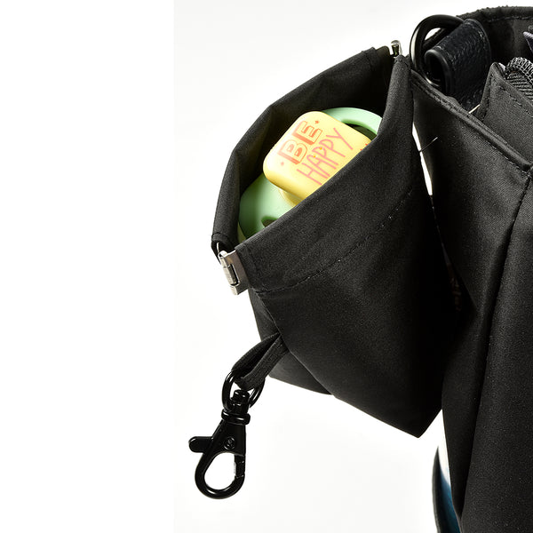 Berlin Nappy Bag - Black (2)