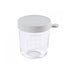 Glass 250ml Conservation Jar - Grey