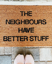 Better Neighbours Vinyl Coir Doormat