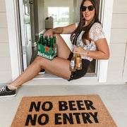 No Beer No Entry