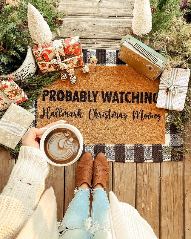 Probably Watching Hallmark Christmas Movies