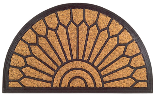Lily Non Brush Rubber Coir Doormat