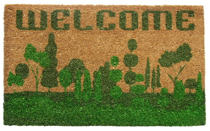 Welcome Nature Vinyl Coir Doormat