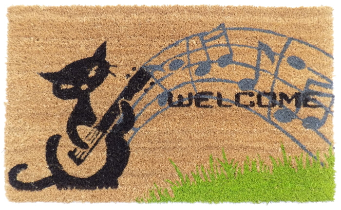 Musical Cat PVC Doormat