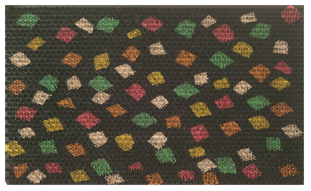 Fiesta Design Recycled Rubber Doormat