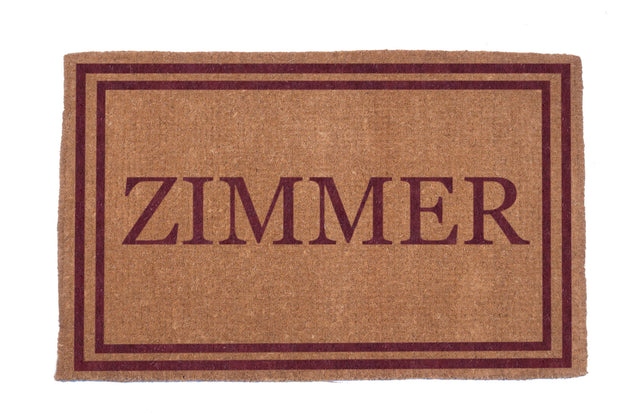 Double Border Personalized Doormats