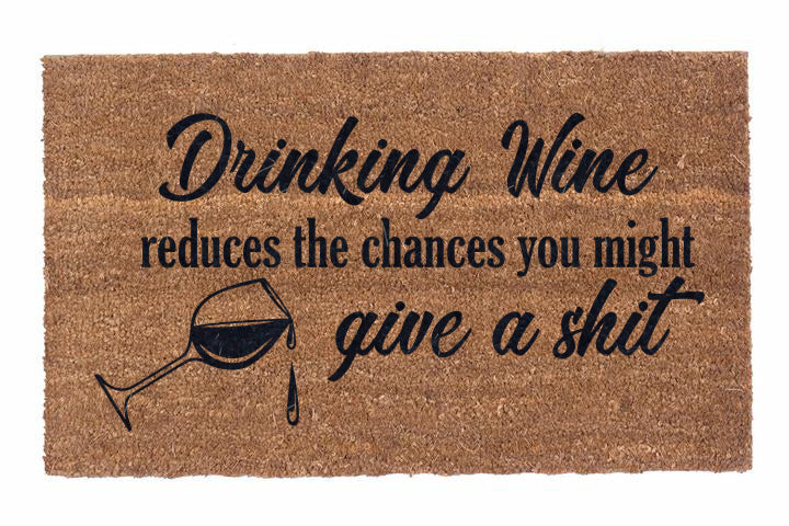 Drinking Wine Reduces The Chances You Might Give A Shit