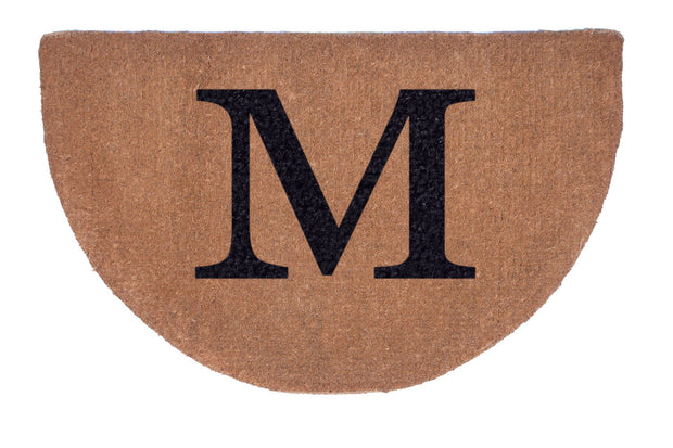 Half Round Plain Personalized Doormats