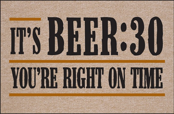 FUNNY DOORMAT - IT IS BEER-30