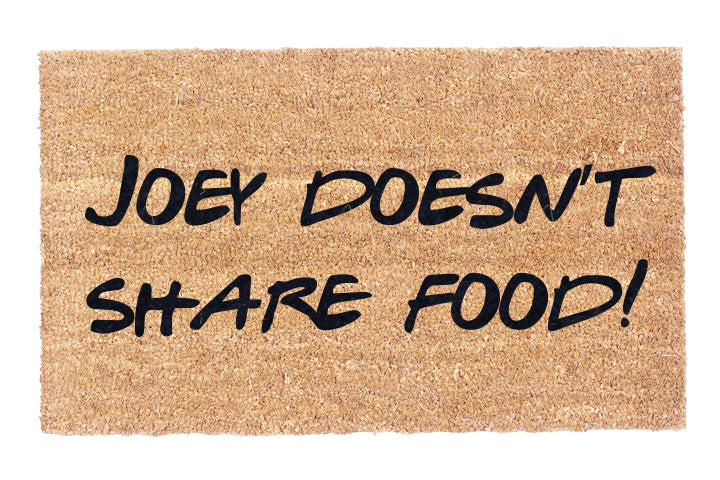 Joey Doesn't Share Food!