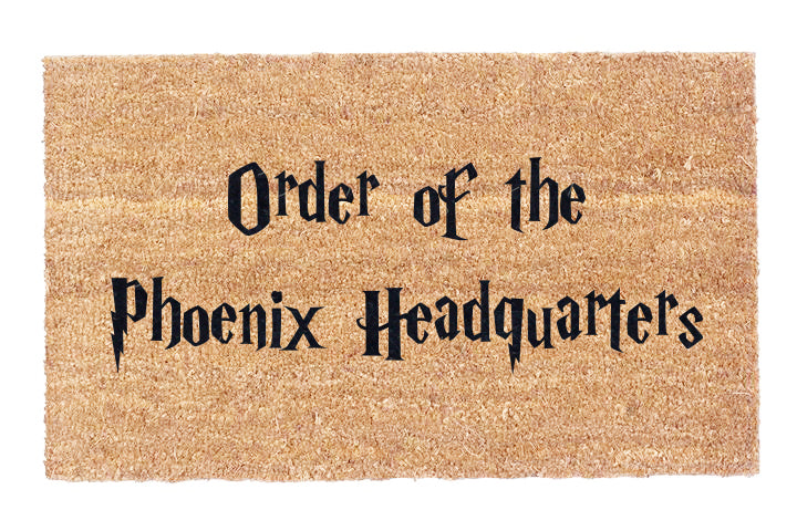 Order of the Phoenix Coco Doormat