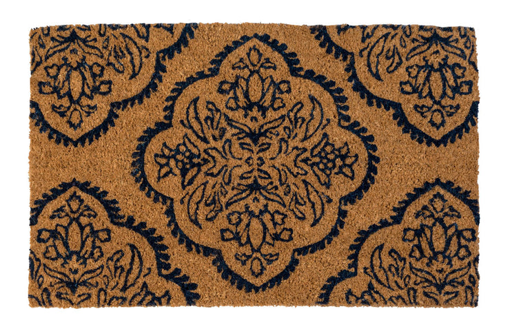 Persian Medallion Handwoven Coco Doormat