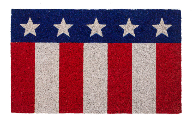 Star Spangled Coco Doormat
