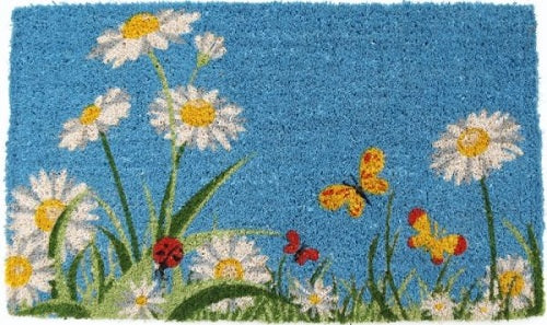 One Summer Day Handwoven Coco Doormat
