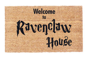 Welcome to Ravenclaw House Coco Doormat