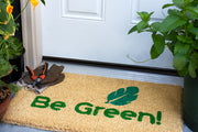 Be Green Handwoven Coco Doormat