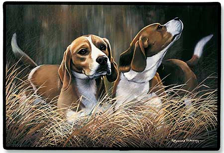 Beagle Polyester Doormat