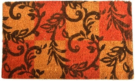 Branching Twirls Coco Doormat