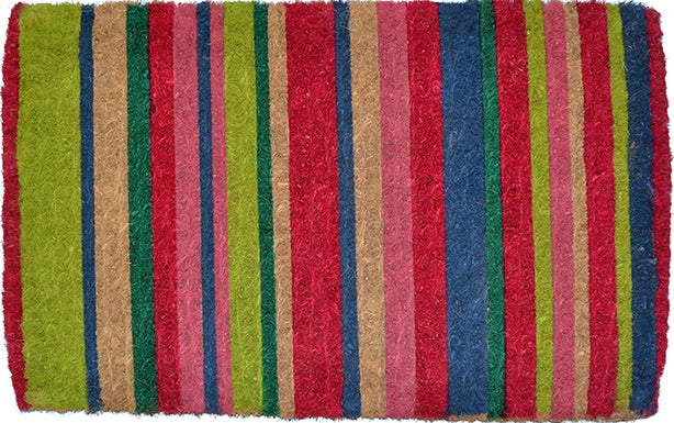Coco Doormat - Multicolor Stripes