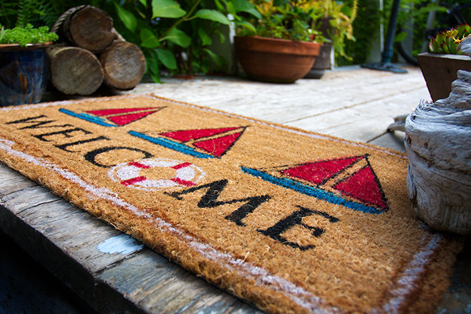 Nautical Welcome Mat