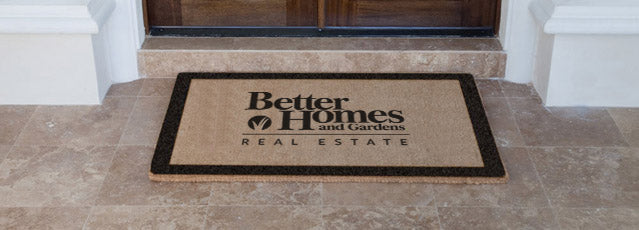Better Homes and Garden Vinyl Coir Doormat