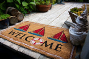 Nautical Welcome Coco Mats