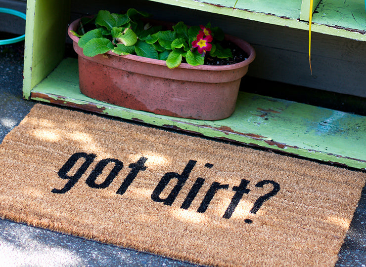 Got Dirt? Coco Doormat