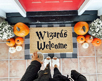 Wizards Welcome Coco Doormat