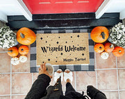 Wizards Welcome Muggles Tolerated Coco Doormat