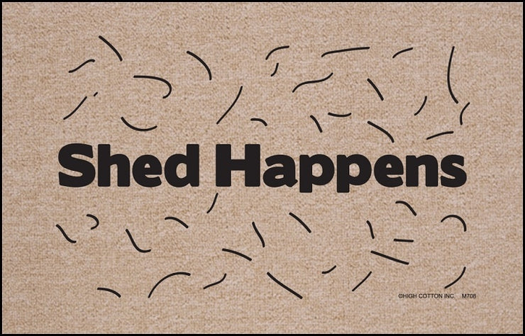 Shed Happens Olefin Doormat