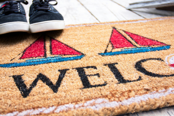 Nautical Welcome Doormats