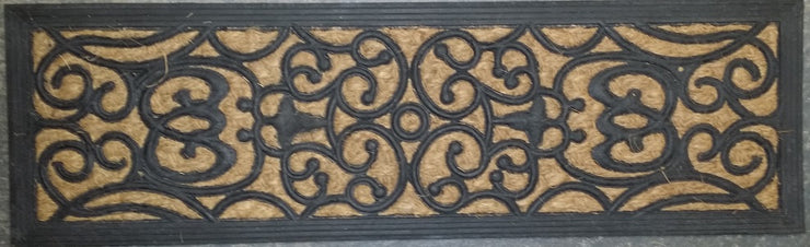 Panama Filigree Floor Treads Rubber Coir Doormat
