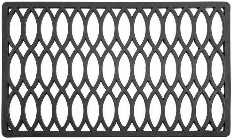 Trellis Recycled Rubber Doormat