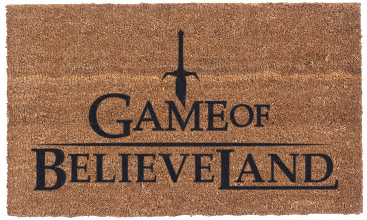 Game of Believeland – Vinyl backed Coco Mats