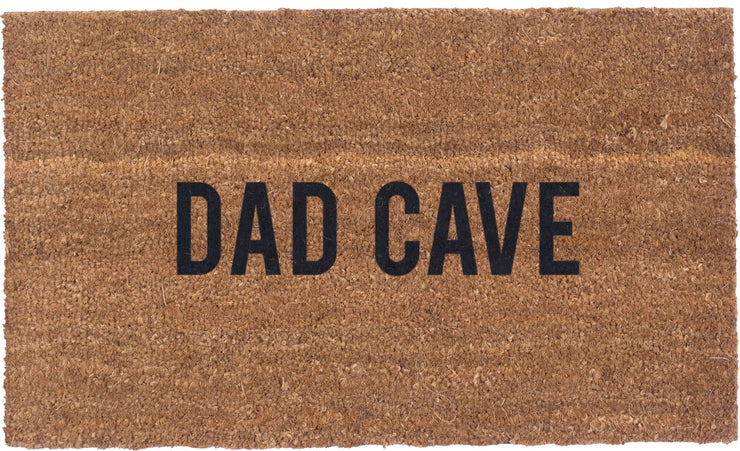 Dad Cave - Vinyl Backed Coco Mat
