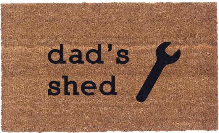 Dad Shed - Vinyl Backed Coco Mats
