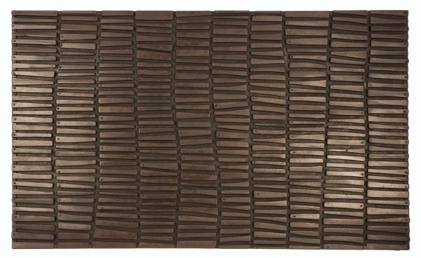 Wood Wall Recycled Rubber Doormat