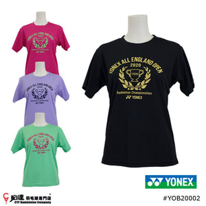 Yonex 2020 All England Limited Edition T-shirt #YOB20002 (Women)