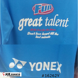 Yonex #16262Y Uni Long Sleeves T-shirt