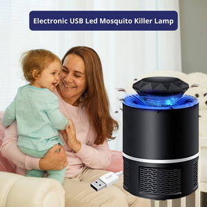 Electronic USB Led Mosquito Killer Lamps Mosquito Trap Machine for Home