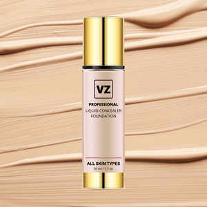 VZ PROFESSIONAL LIQUID LONG-STAY CONCEALER FOUNDATION | FOR ALL SKIN TYPES