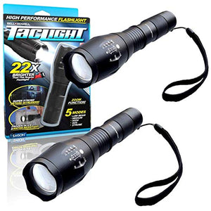 5 in 1 + Zoom High Power Taclight Flashlight