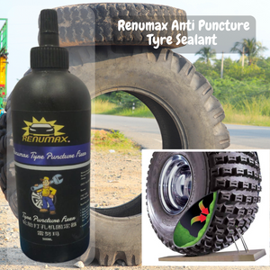 Renumax Anti Puncture Tyre Sealant – Special Pack with NOZZLE