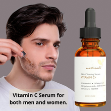 Load image into Gallery viewer, Natural & Organic Anti Wrinkle Whitening Vitamin C Serum for face, 20% Vitamin C