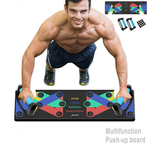 Fitness Workout Push-up Board Multi Function Gym Muscles Training Exercise | Home Gym