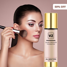 Load image into Gallery viewer, VZ PROFESSIONAL LIQUID LONG-STAY CONCEALER FOUNDATION | FOR ALL SKIN TYPES