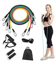 Load image into Gallery viewer, Exercise Resistance Bands Set - 11 Pieces of set