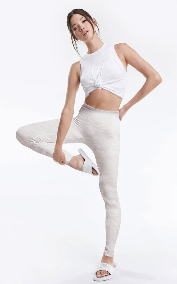 Kris Leggings | Rose Marble